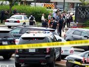 """美国又发枪案!报社遭袭犹如""""战场"""" 已致5死多人伤"""