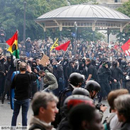 法國總統辦公室稱將開除毆打示威者的總統保鏢