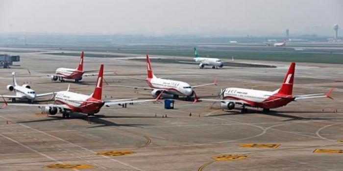 双色球 走势图_美一架波音737MAX客机因引擎问题迫降 机上无乘客