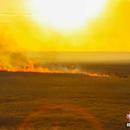 中俄边境满洲里发生不明火情 正在积极扑救