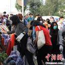 逾千名香港市民前往紅磡附近清理路障