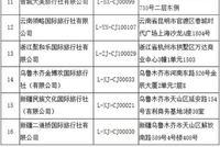 文化旅游部:取消南京驴妈妈等16家旅行社出境游业务