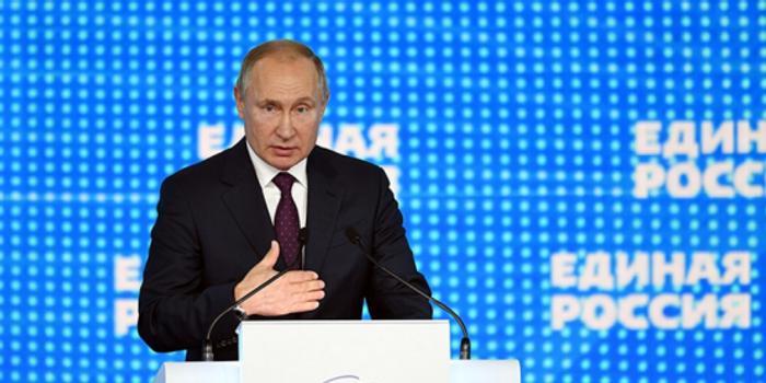 """普京出席大会 呼吁统一俄罗斯党""""折磨""""政府官员"""