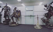 《黑暗之魂》厂商门口立霸气雕像:小伙子,传火吗?