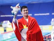 奥运冠军孙杨正式入读上海体育学院博士研究生