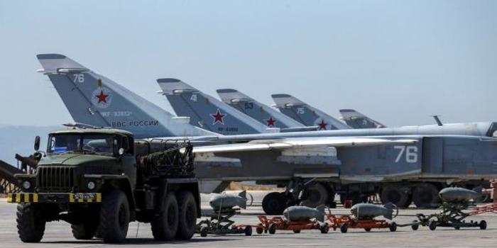 驻叙俄军对基地进行加固升级 提升空军防御水平