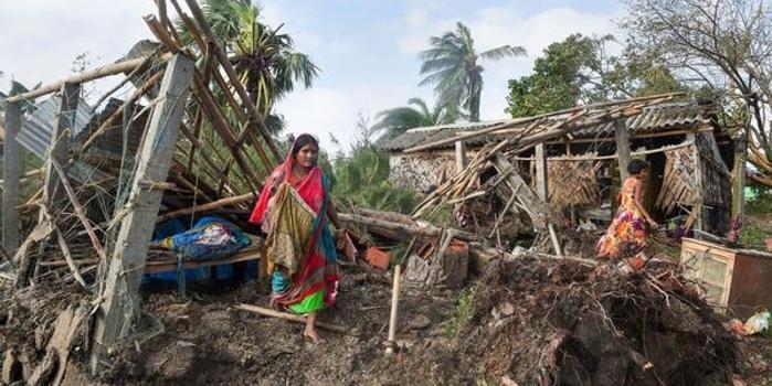 """热带气旋""""布尔布尔""""已致印度7人丧生"""