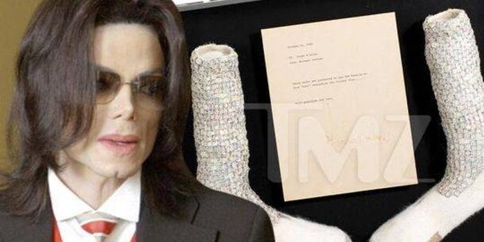 迈克尔杰克逊袜子将拍卖 系首次表演太空步所穿