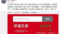 阴阳合同危机发酵影视股全线下挫 华谊兄弟大跌9.66%