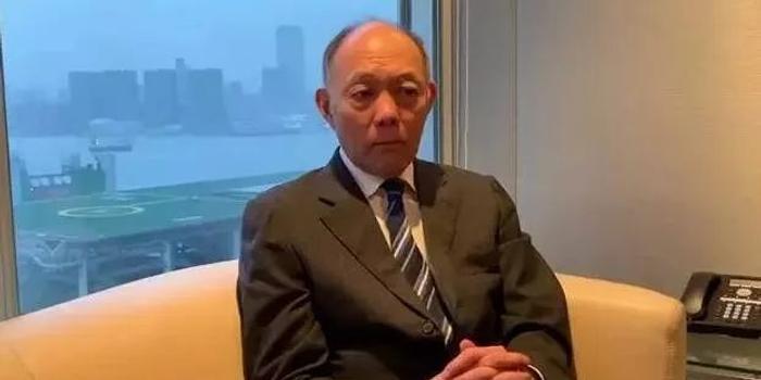 霍英東集團總裁霍震寰: