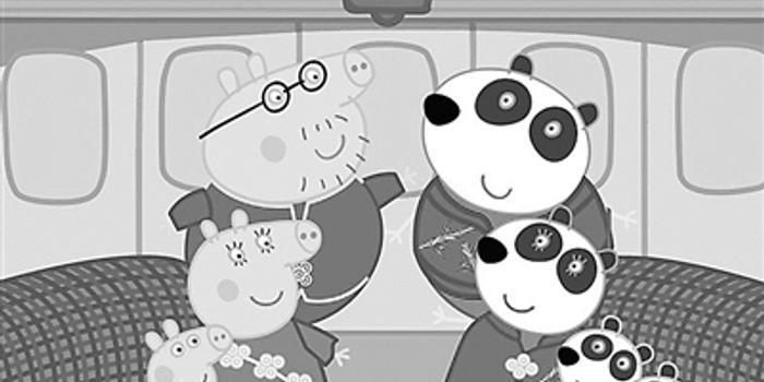 """合家欢海报:《小猪佩奇过大年》 和熊猫一起体验""""春运"""" 将于大年初一"""