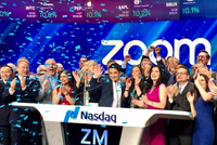 Zoom上市:市值超160亿美元 华裔创始人走向人生巅峰