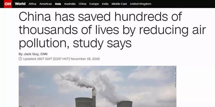 CNN:中国政府已经挽救了数十万条人命!