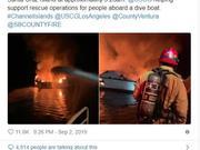 凶多吉少 30多名乘客深夜熟睡时这艘船被大火吞噬