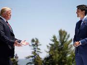 川普改口称不支持G7公报 对加总理人身攻击
