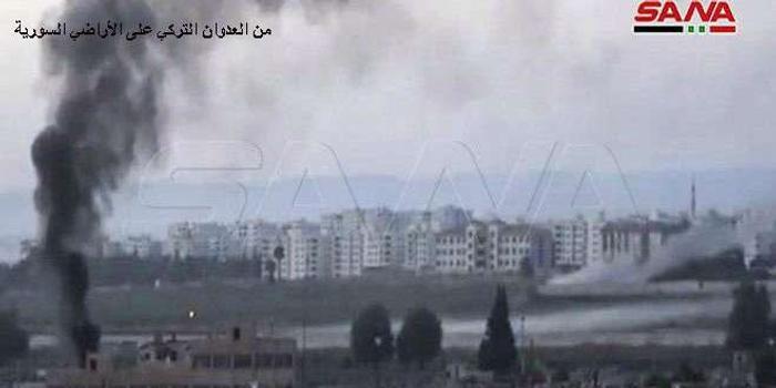 土耳其及其支持的叙反对派武装继续袭击叙北部