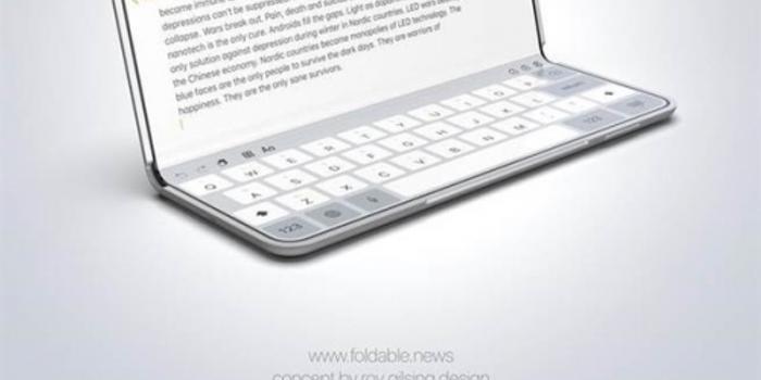 設計師腦洞大開 可折疊屏幕iPhone長這樣?(圖)
