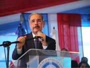 多米尼加总统:中多建交无附加条件 有人企图抹黑