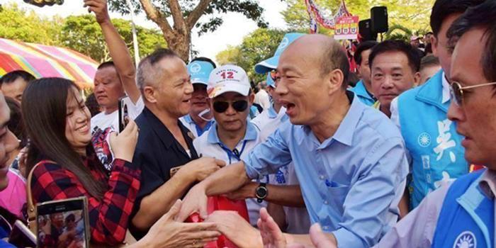 韩国瑜一席话让陈学圣大喊:他还没有迷失自己