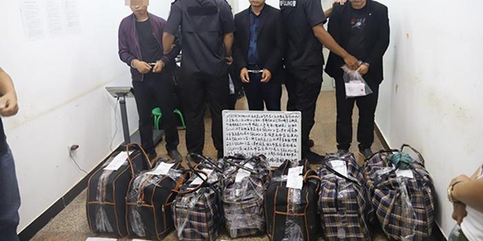 云南缴获200公斤毒品刑拘3人 七个编织袋塞满轿车