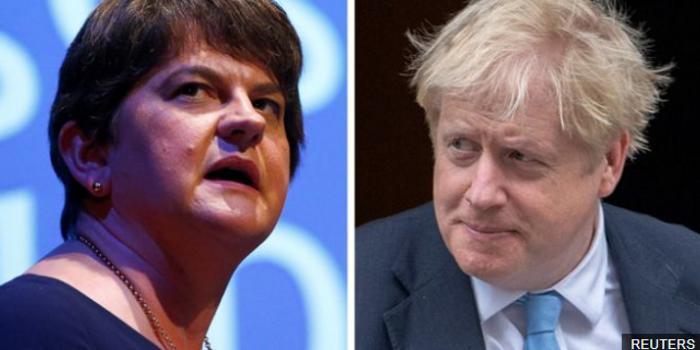 北愛爾蘭盟友否決脫歐協議 英國脫歐談判受新打擊