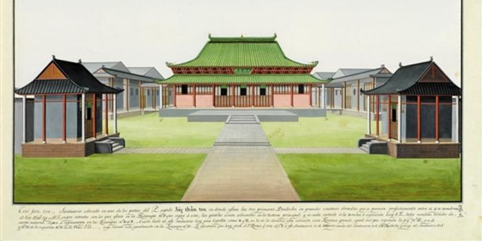海外的英文报纸也曾向读者推介该寺.