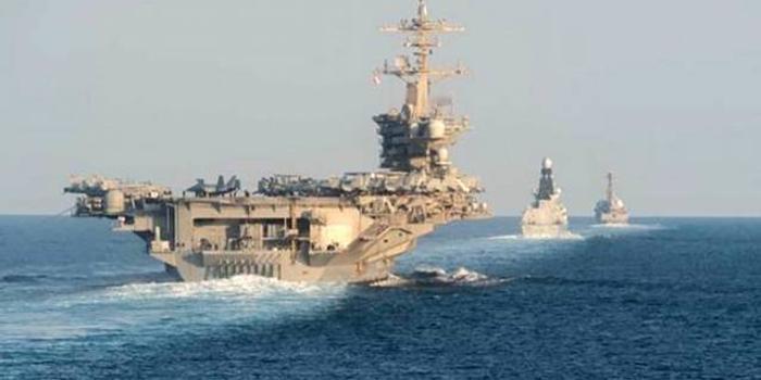伊朗多地爆发示威骚乱后 美军航母驶入波斯湾