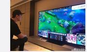 王思聪晒新电视:超大100寸索尼Z9D、全球第一台