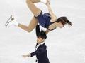 俄罗斯拼稳定德加冲难度 中国双人滑世锦赛遇挑战