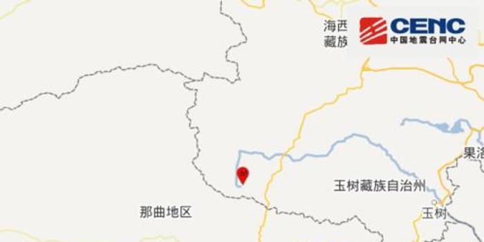 青海海西州发生4.6级地震