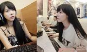 """台湾美女""""打游戏太认真""""!被誉为""""最清纯LOL女神"""""""