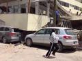 墨西哥地震致一学校教学楼倒塌 约100名学生失踪(图)