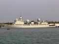 中国第7艘东调级侦察船下水:频繁现身热点地区
