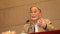 厉以宁:建设中国特色社会主义需要优秀企业家精神