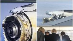 法航一架A380引擎空中解体 紧急降落加拿大机场(图)