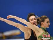 中国杯法国冰舞组合超高分夺冠 中国组合获第六