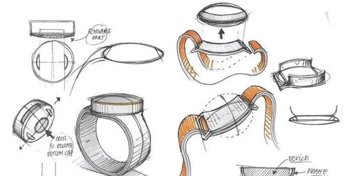 一加智能手表设计草图曝光 圆形表盘/或同一加8发布