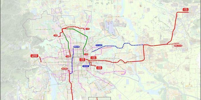 3d试机号每日快报_北京调整5条地铁线路规划 平谷线预留三河支线