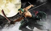 《海贼王》索隆三千世界手办 三刀流剑术帅气爆表