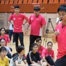 副教授蘇炳添開課了 爲100名學生講授短跑技巧