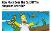 《辛普森一家》配音演员收入惊人 每集收入30万美元