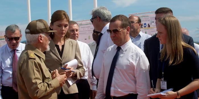 俄罗斯计划同古巴开展核能合作对抗美国封锁