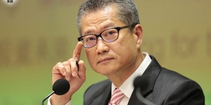 香港财政司司长:美国通过涉港法案毫无理据