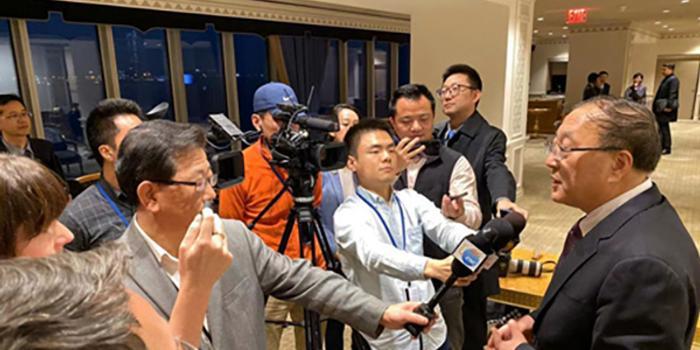 张军大使就人权问题接受联合国主流媒体采访
