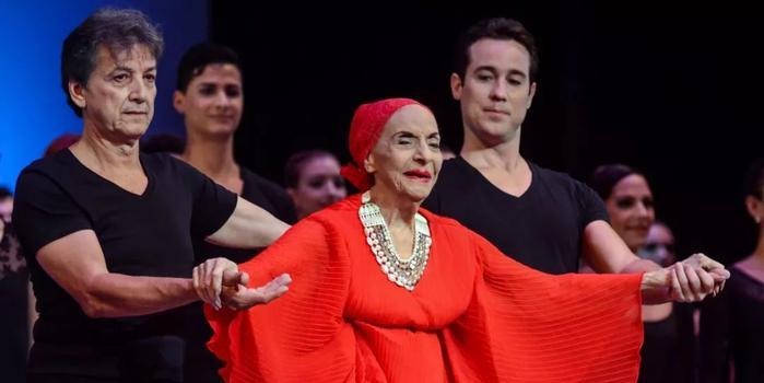 芭蕾舞傳奇阿隆索去世 曾創作舞劇向中國致敬(圖)