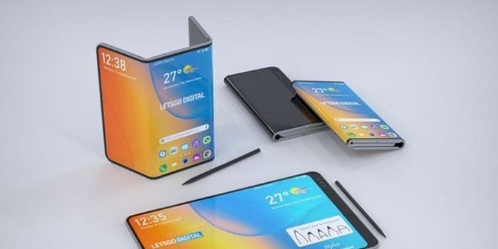 外媒再次报道LG双折叠手机专利 配备专用手写笔