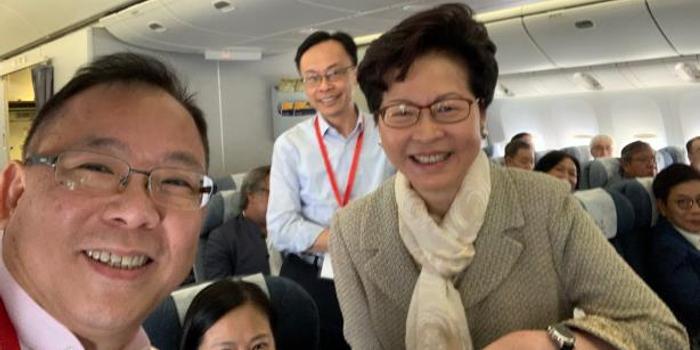 林郑月娥率代表团前往北京