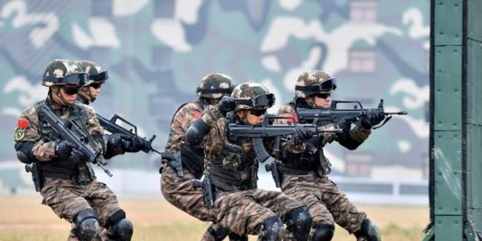 """这群""""高颜值""""的特战队员 从这里走向战场(图)"""