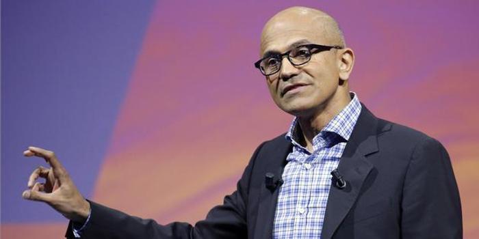 """微软给CEO纳德拉加薪66%:赞其具备""""战略领导力"""""""