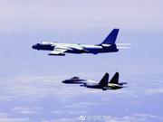 美方回应解放军战机绕飞台湾:反对采取武力胁迫手段